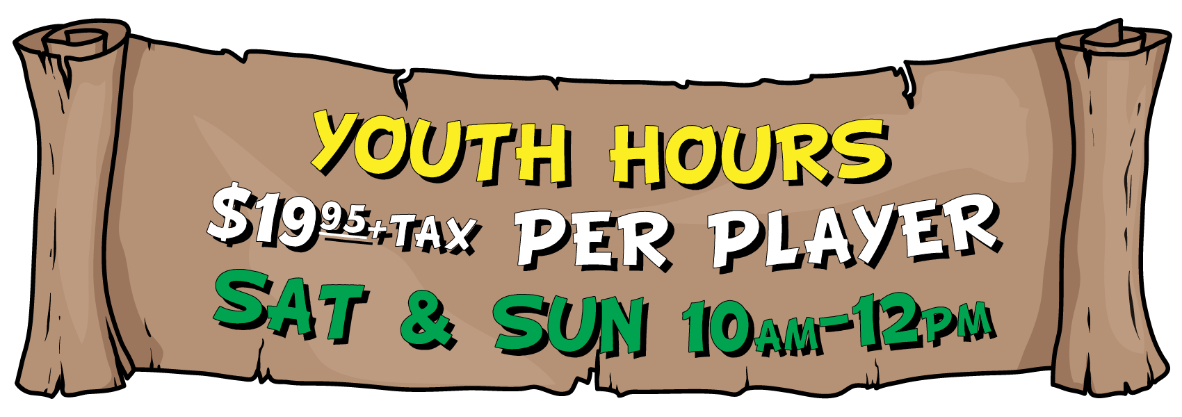 Archery_Games_Calgary_Youth_Hours_Banner